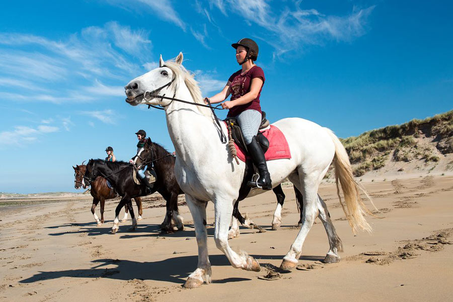 Beach horse riding Sligo Ireland